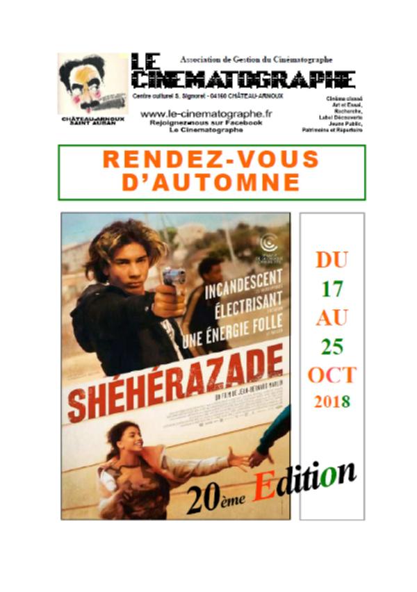 RENDEZ VOUS D AUTOMNE 2018