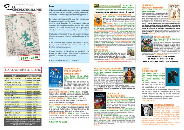 PROGRAMME JEUNE PUBLIC