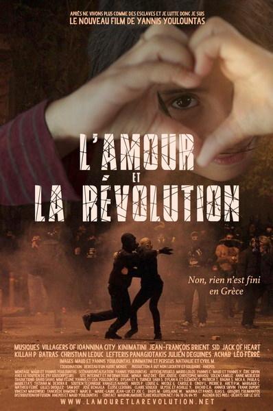 MERCREDI 12 DEC - 18 H 30 : « L'AMOUR ET LA REVOLUTION,